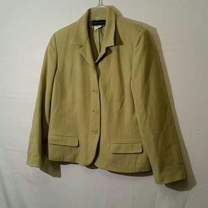 Harve benard wool blazer jacket